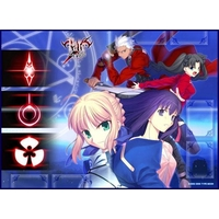Card Game Playmat - Fate/stay night / Saber & Rin & Sakura