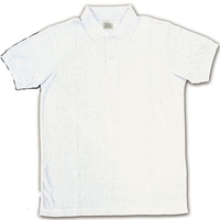 Polo Shirts (ポロシャツ半袖 ホワイト/ メンズ SS) Size-S