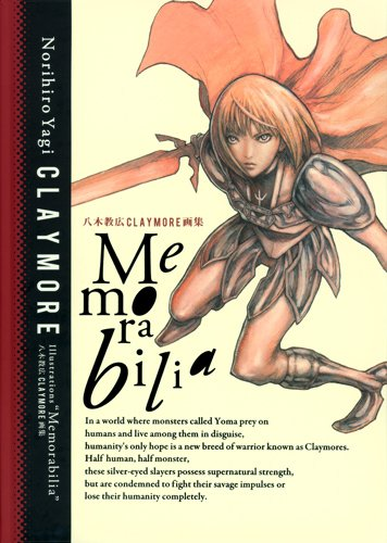 Illustration book - CLAYMORE