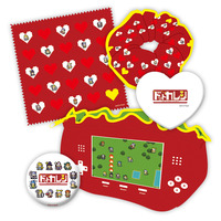 Mirror - Hair Tie (Scrunchy) - Hand Towel - Dot Kareshi -We're 8bit Lovers-