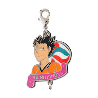 Charm Collection - Metal Charm - Haikyuu!! / Nishinoya Yuu
