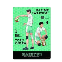 Plastic Sheet - Haikyuu!! / Aoba Jyousai High School