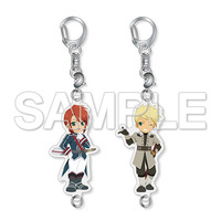 Acrylic Key Chain - Tales of the Abyss / Guy & Luke