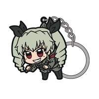 Tsumamare Key Chain - GIRLS-und-PANZER / Anchovy