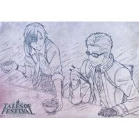 Place mat - Tales of Xillia2 / Julius & Ludger