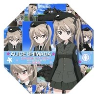 Mini Umbrella - GIRLS-und-PANZER / Shimada Arisu