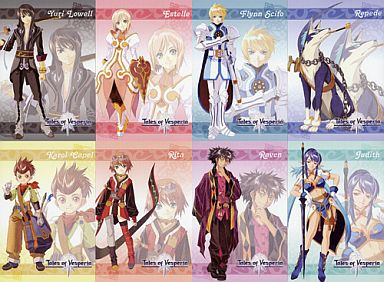 Postcard - Tales of Vesperia