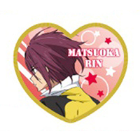 Cushion Badge - High Speed! / Matsuoka Rin