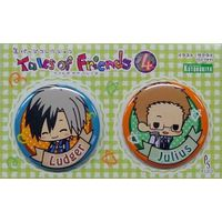 Trading Badge - Tales of Xillia2 / Julius & Ludger