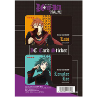 Card Stickers - D.Gray-man / Lavi & Lenalee Lee