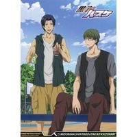Illustrarion card - Card Collection - Kuroko's Basketball / Takao & Midorima