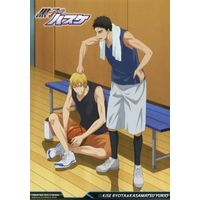Illustrarion card - Card Collection - Kuroko's Basketball / Kasamatsu & Kise