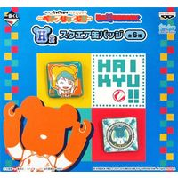 BE@RBRICK - Square Badge - Haikyuu!! / Oikawa Toru