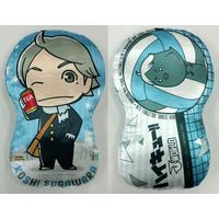 J-WORLD Limited - Die-cut Cushion - Haikyuu!! / Sugawara Koushi