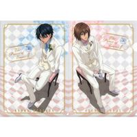 Plastic Folder - Prince Of Tennis / Fuji & Ryoma