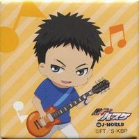J-WORLD Limited - Square Badge - Kuroko's Basketball / Kaijo High & Kasamatsu