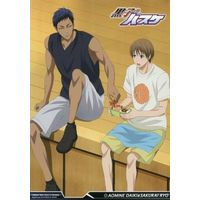 Illustrarion card - Card Collection - Kuroko's Basketball / Sakurai Ryou & Aomine