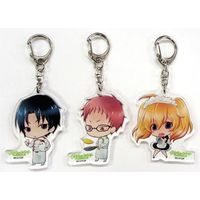 Acrylic Key Chain - Seraph of the End / Guren & Sangu Mitsuba
