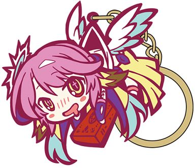 Tsumamare Key Chain - No Game, No Life / Jibril