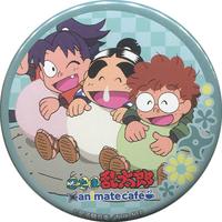 Animate Cafe Limited - Trading Badge - Failure Ninja Rantarou / Kirimaru & Fukutomi Shinbe