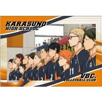 Square Badge - Haikyuu!! / Karasuno High School