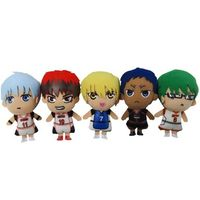 (Full Set) Plush Strap - Kuroko's Basketball