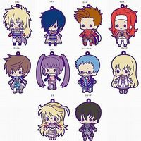 (Full Set) Rubber Strap - Tales of Vesperia
