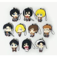 (Full Set) Rubber Strap - Shingeki no Kyojin