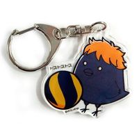 Trading Acrylic Key Chain - Haikyuu!! / Karasuno High School