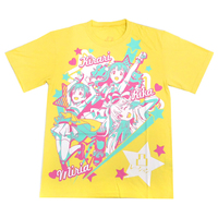 T-shirts - IM@S: Cinderella Girls / 凸ration & Kirari & Miria Akagi & Rika Size-L