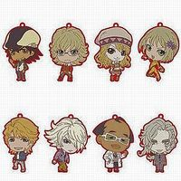 (Full Set) Rubber Key Chain - TIGER & BUNNY