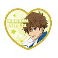 Cushion Badge - High Speed! / Kirishima Natsuya