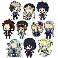 (Full Set) Rubber Strap - Tales of Xillia2