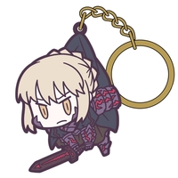 Tsumamare Key Chain - Fate/Grand Order / Saber Alter
