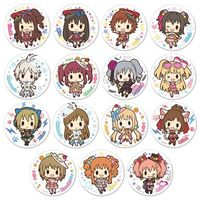 (Full Set) Trading Badge - IM@S: Cinderella Girls