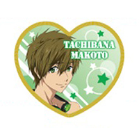 Cushion Badge - High Speed! / Tachibana Makoto