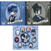 (Full Set) Handkerchief - Black Butler / Ciel & Sebastian