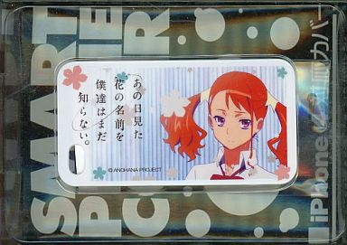 iPhone4 case - Smartphone Cover - AnoHana / Anjou Naruko