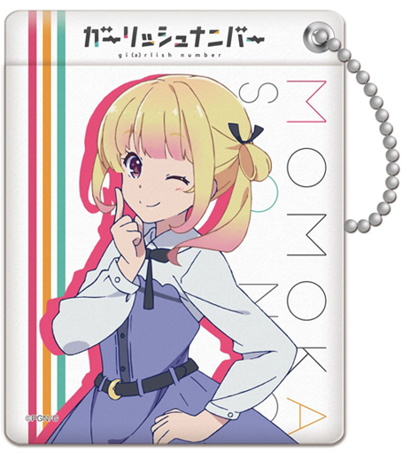 Neck Strap - Commuter pass case - Girlish Number / Sonou Momoka