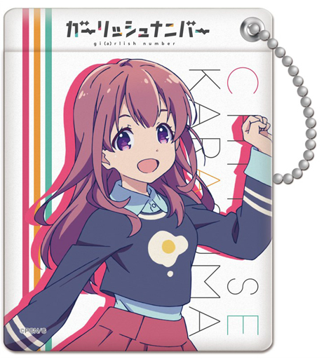 Commuter pass case - Girlish Number / Karasuma Chitose