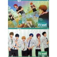 Plastic Folder - Free! (Iwatobi Swim Club)