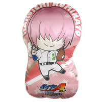 Die-cut Cushion - Ace of Diamond / Toujo Hideaki & Kominato Haruichi