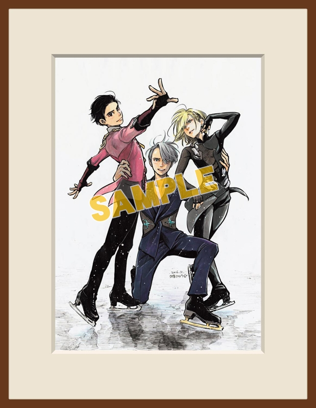 Original Drawing - Yuri!!! on Ice / Yuuri & Victor & Yuri