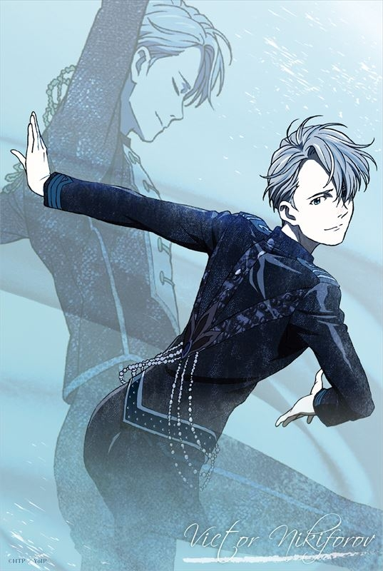 Portrait - Yuri!!! on Ice / Victor Nikiforov