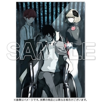 Postcard - Illustration book - Durarara!! / Izaya Orihara