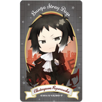 Card Stickers - Bungou Stray Dogs / Akutagawa Ryuunosuke