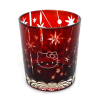 Tumbler, Glass - Hello Kitty