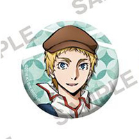 Badge - Bungou Stray Dogs / John Steinbeck