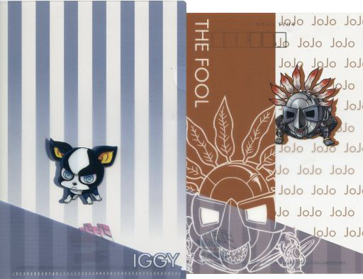 Postcard - Jojo no Kimyou na Bouken / The Fool & IGGY