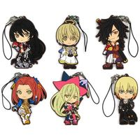 (Full Set) Rubber Strap - Tales of Berseria / Rokurou Rangetsu